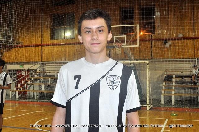 Jugador del torneo: TomásBecco (Sportivo)