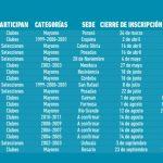 CALENDARIO 2019 CAFS
